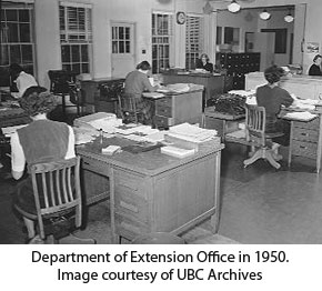 Department of Extension Office