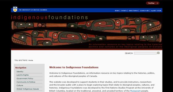 Indigenous-Foundations-screenshot