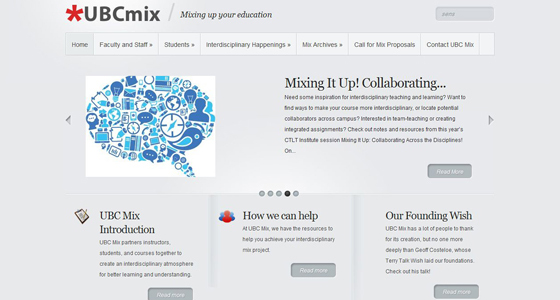 UBC Mix screenshot