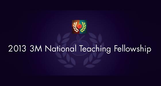 2013-3M-National-Teaching-Fellowship