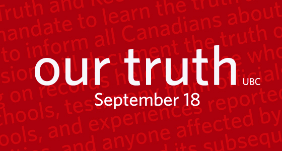 Our Truth banner