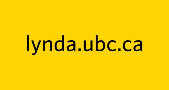 Lynda.ubc.ca