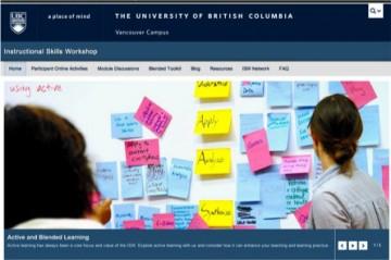 ISW site screenshot