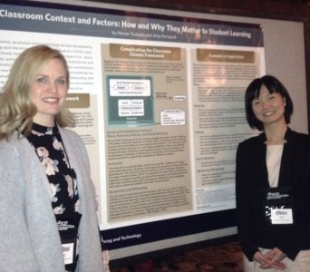 Amy and Hanae were awarded one of the POD conference travel fellowships for their work!