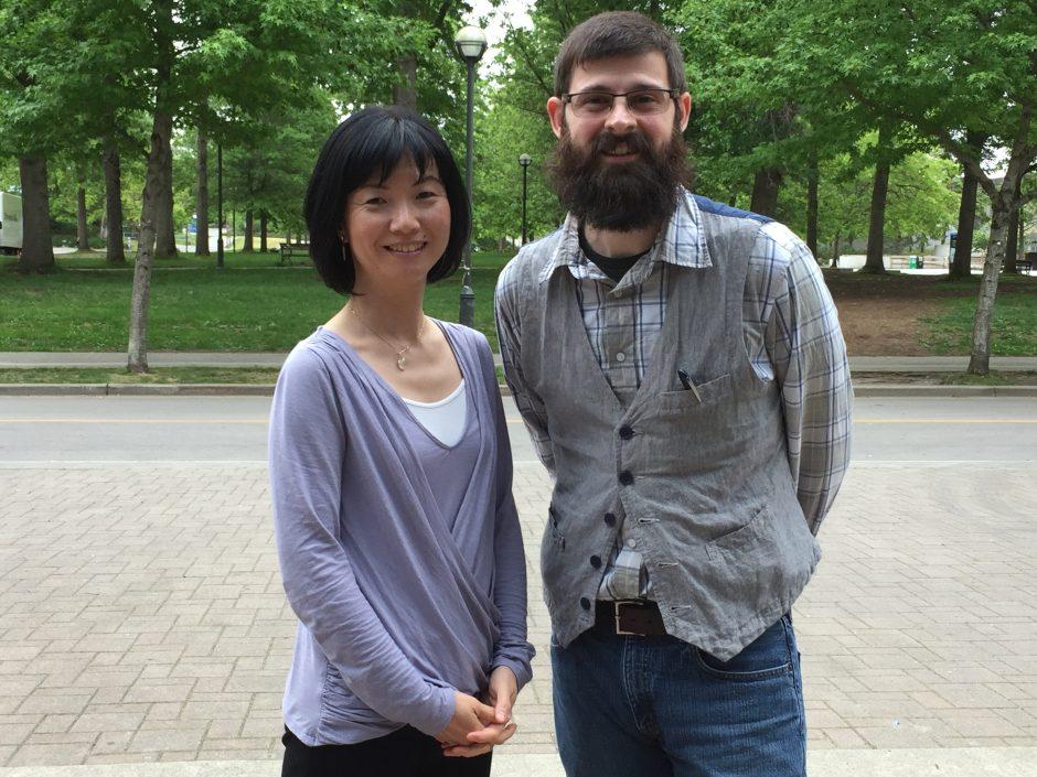 Hanae Tsukada and Jason Woolman