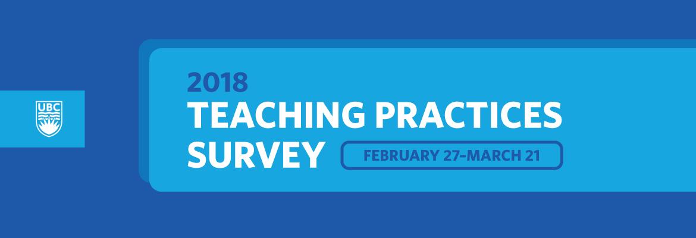 2018 Teaching Practices Survey