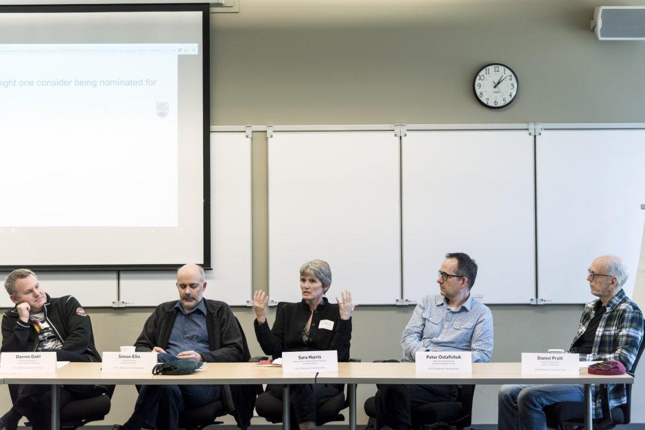 Panel of UBC 3M National Teaching Fellows